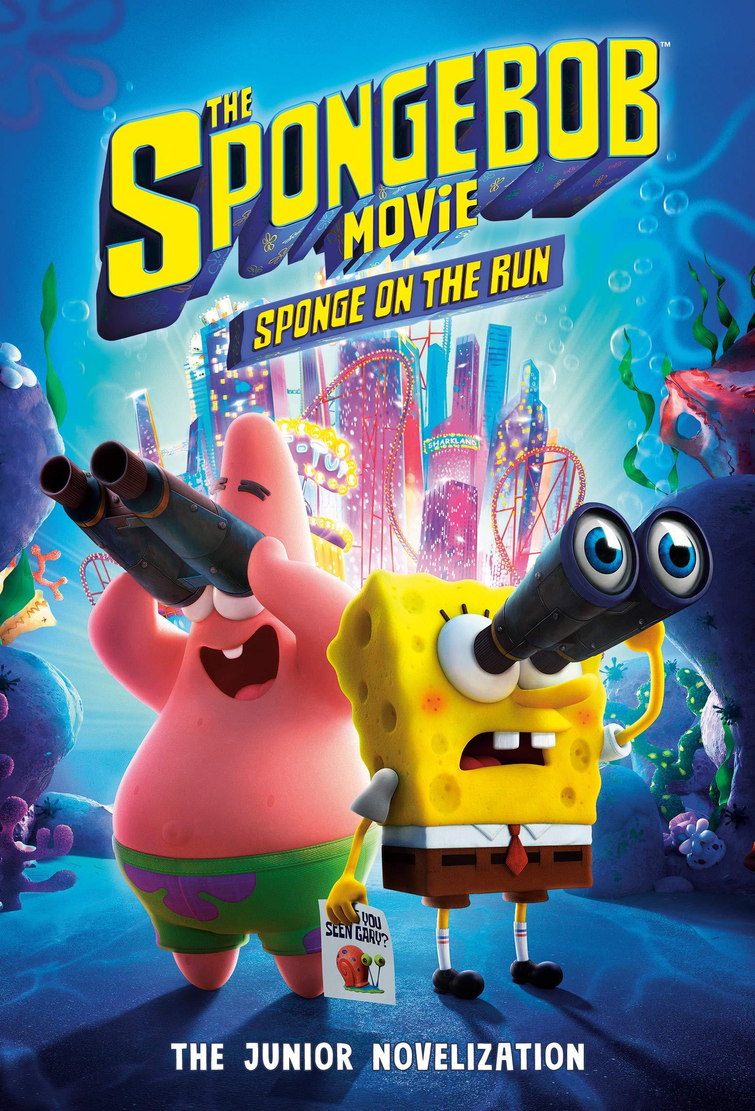 The Spongebob Movie Sponge On The Run The Junior Novelization Spongebob Squarepants Lewman David Random House 9780593127513 Amazon Com Books