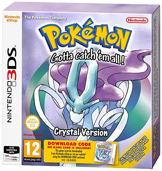 Pokemon crystal game free download gba | The Official
