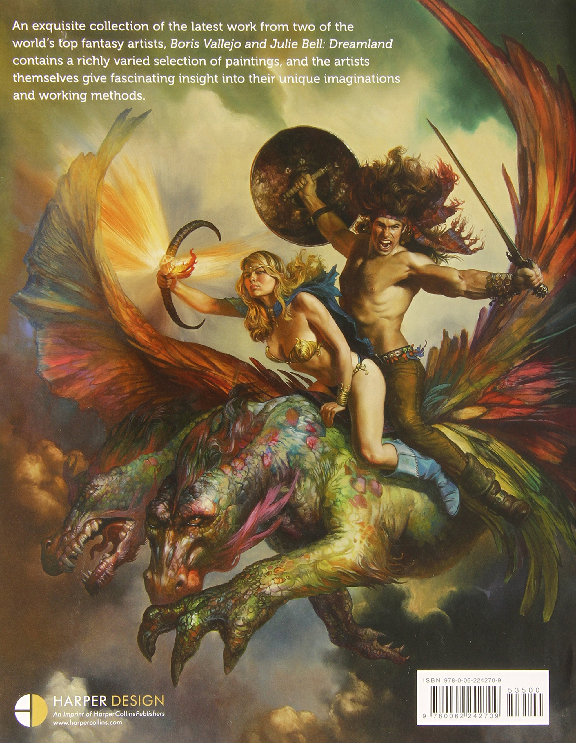 Boris Vallejo and Julie Bell: Dreamland: Boris Vallejo, Julie Bell ...