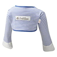ScratchSleeves   Baby Boys' Stay-On Scratch Mitts   Stripes