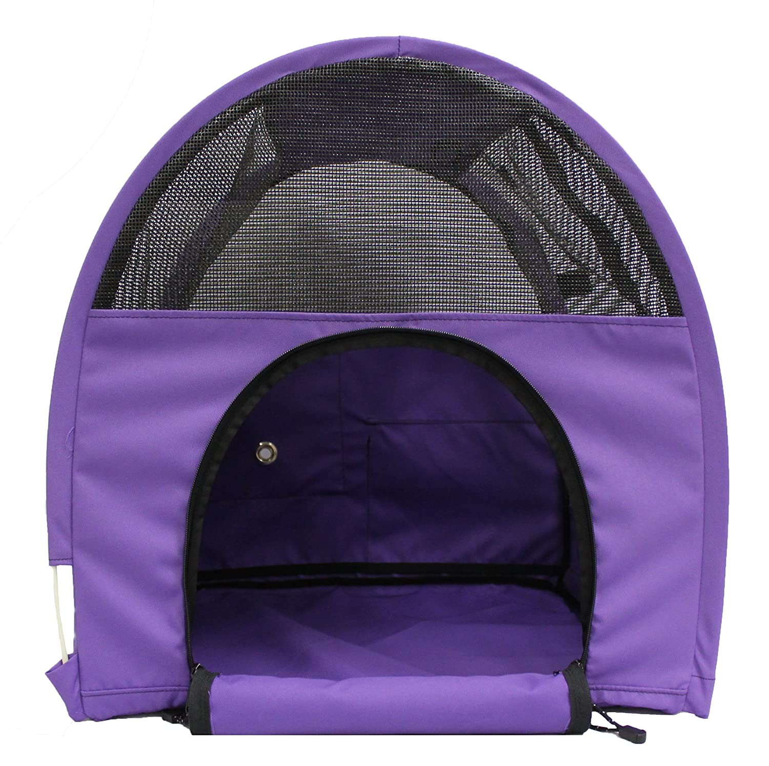 Amazon.com : Sturdi Products Car-Go Single Pop-Up Pet Shelter, Purple : Pet Supplies