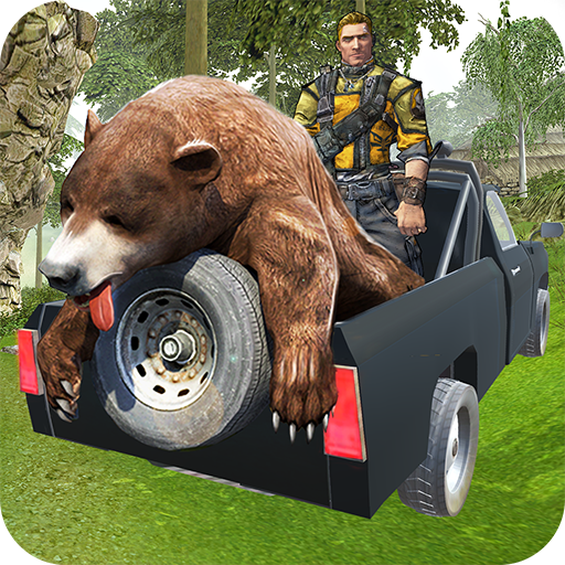 - wild sniper 4x4 hunting safari: Shooting Game 3D