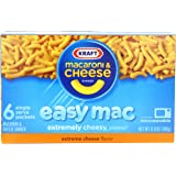Kraft Easy Mac Dinner, Extreme Cheese, 12.9-Ounce Boxes (Pack of 8)