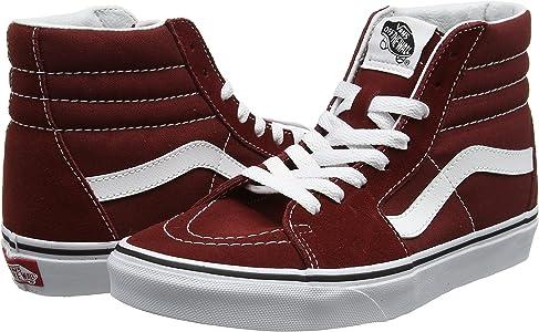 Vans Sk8 hi, Chaussures de Running Mixte Adulte, Rouge