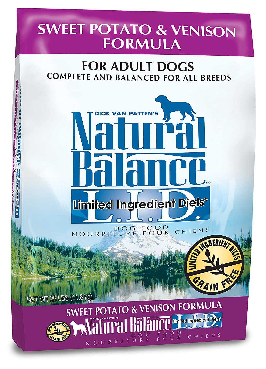 Natural Balance Limited Ingredient Diets Dry Dog Food - Sweet Potato & Venison Formula