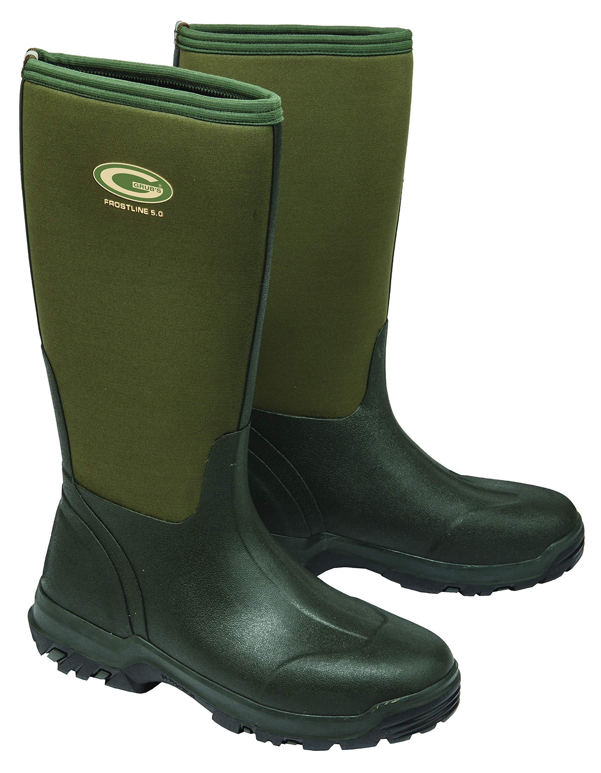 Grubs Frostline 5.0 Knee Height Performance Waterproof Boot; Insulated to 14°F (12) by Grubs