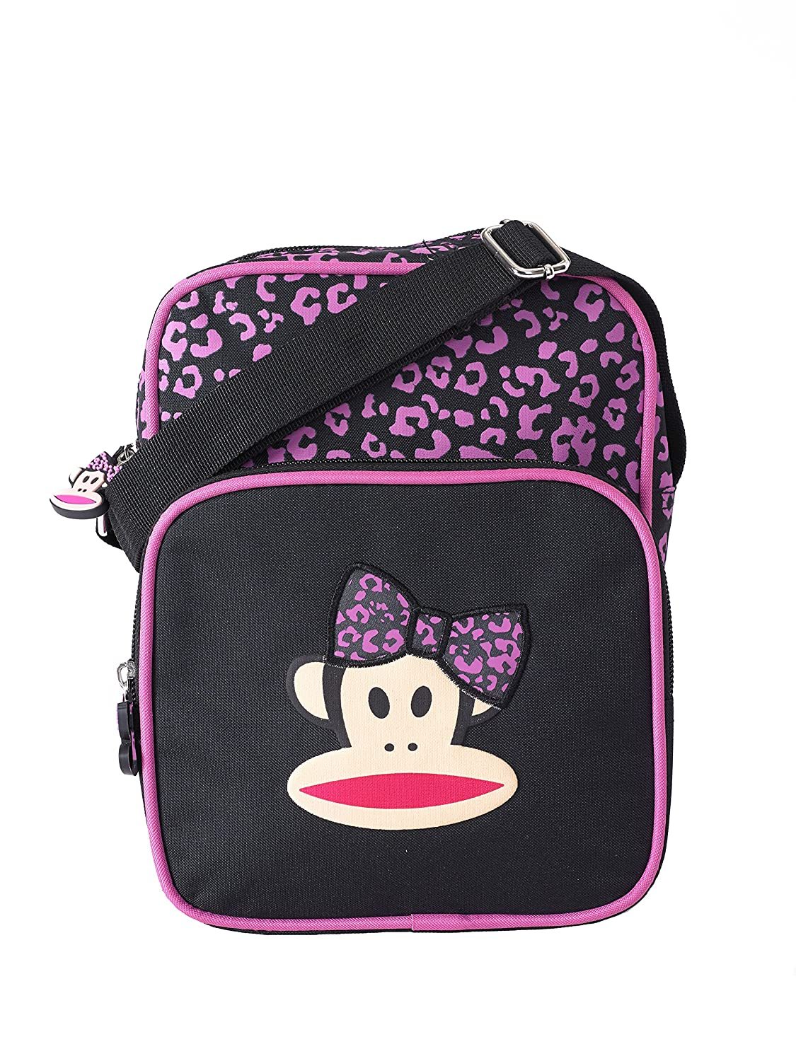 PAUL FRANK Bow Backpack and Pencil Case SET Pink/Black ...