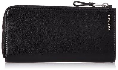 5f806e3a6ac0 (ディーゼル) DIESEL メンズ 財布 ジップ付き 長財布 X05254PR013 UNI ブラック T8013