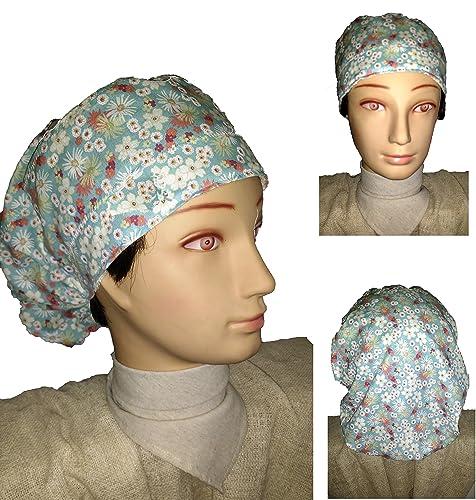 Cappello medico. Primavera. per i capelli lunghi. Chirurgia ... 530a69f3579b