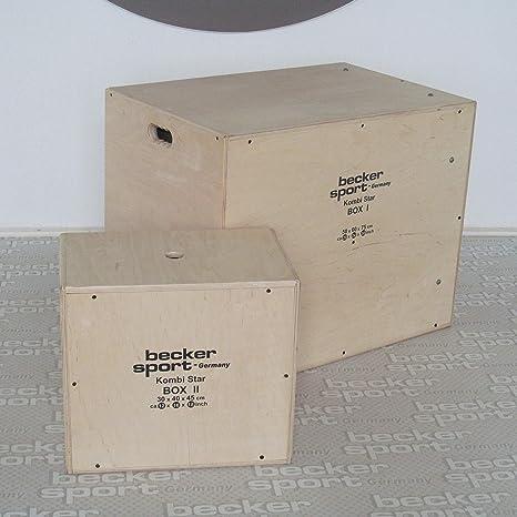KombiStar BOX I y BOX II como set de 12 alturas de salto, 9 variantes de miniaparcamiento y 9 variantes de caja escalonada (BSG 28943): Amazon.es: Deportes y aire libre