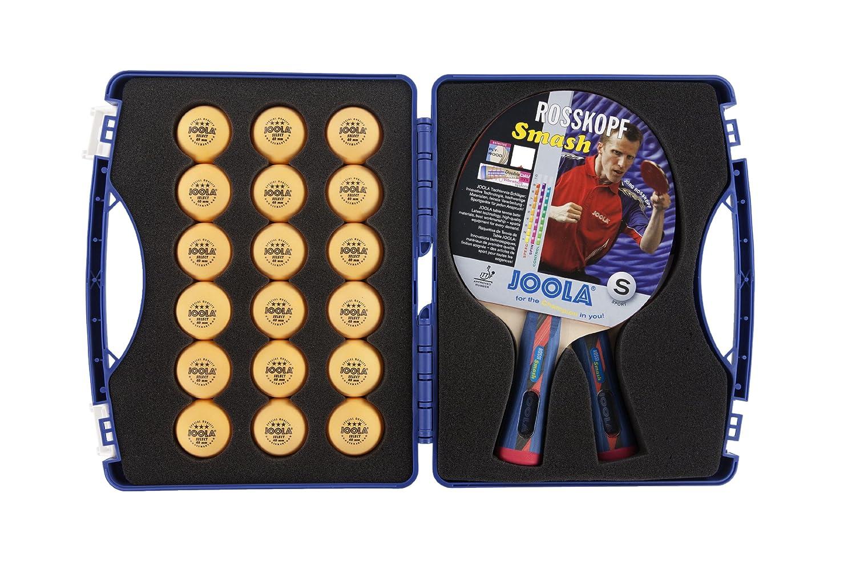 Joola Expertテーブルテニスツアーケースwith 2つRossi Smash Rackets B00EM6K1FW