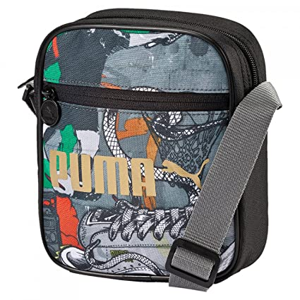 Image Unavailable. Image not available for. Colour  Puma 1.5 Ltrs Puma Black  and Graffiti Messenger Bag ... 9585b296caa77