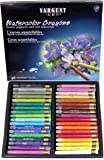 Sargent Art 22-1136 Artist Quality 36 Premium Watercolor Crayons