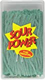 Sour Power Straws, Green Apple (200-Count Straws), 49.4-Ounce Tub