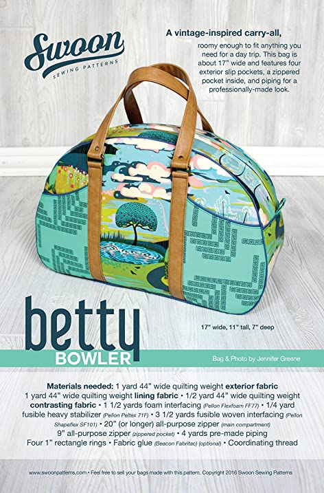 Amazon.com: Swoon Betty Bowler Sewing Pattern: Arts, Crafts & Sewing