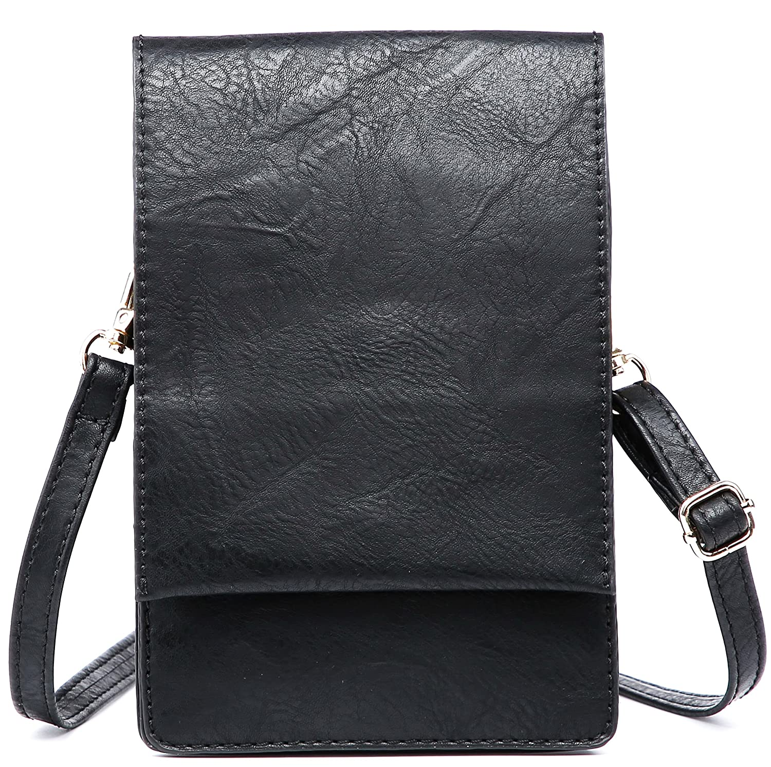 Shomico Women Small Crossbody Purse Cell Phone Pouch Wallet Shoulder Bag For 6 Inches by Shomico