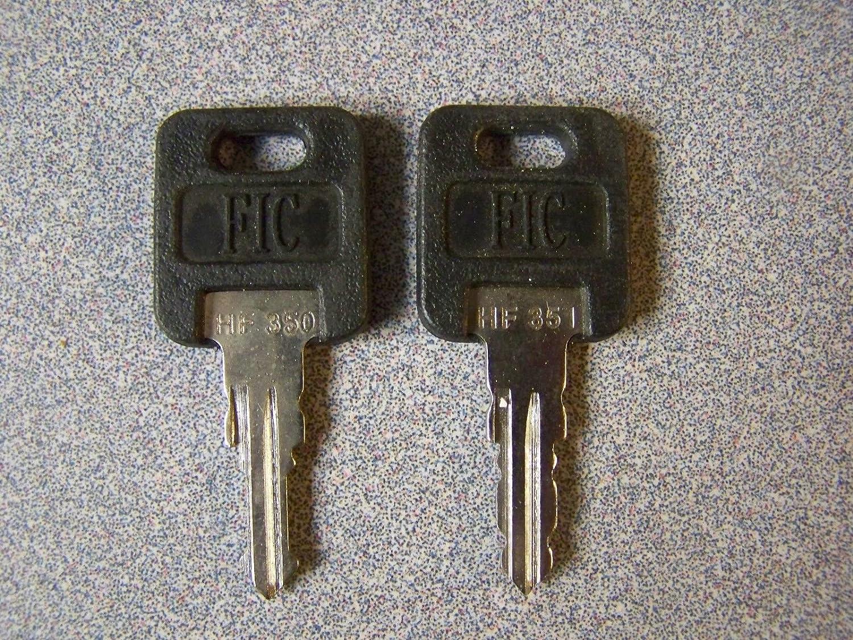 Ilco 2 FIC Aftermarket Camper Key Blanks