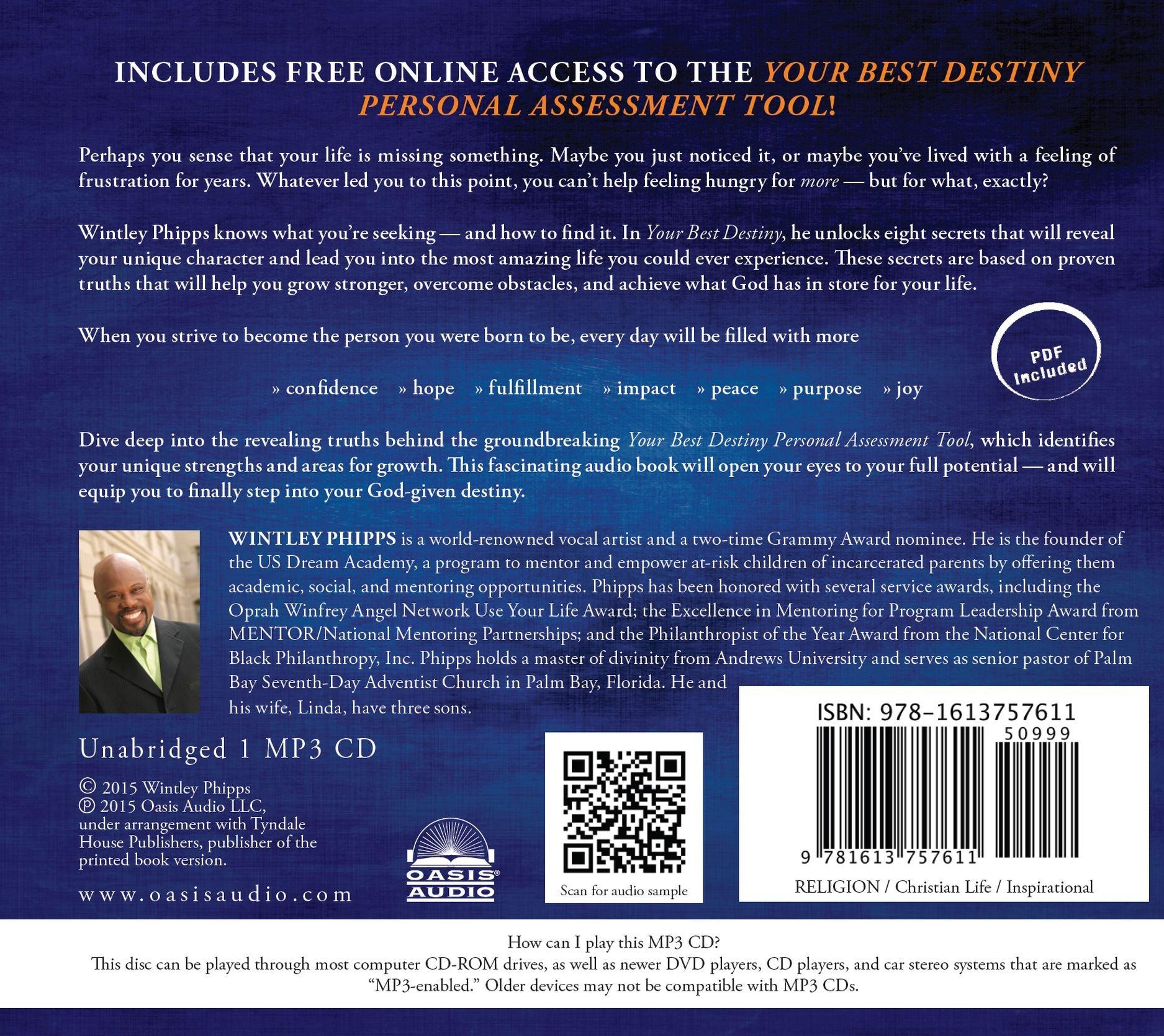 Your Best Destiny: A Powerful Prescription for Personal ...