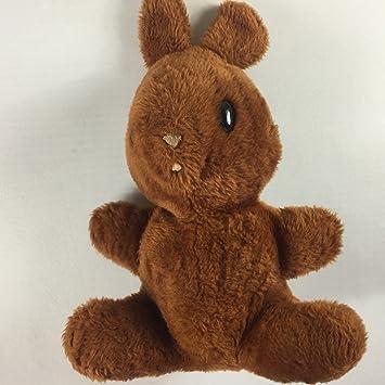 Amazon Com Animal Fair Plush Bunny Vintage Stuffed 15 Toy Bell