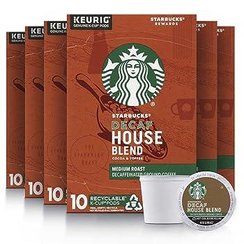 Starbucks Decaf House Blend Espresso K Cup