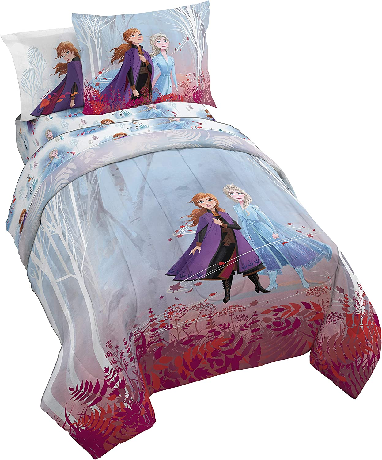 Jay Franco Frozen 2 Forest Spirit Bed Set, Full