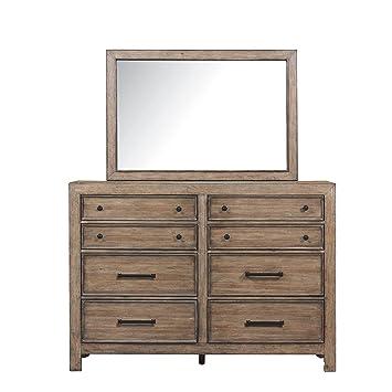 Amazon.com: Samuel Lawrence Flatbush 8 cajón Dresser en ...