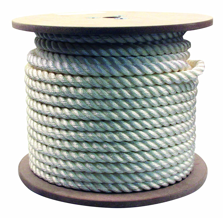Rope King TN-34200 Twisted Nylon Rope 3/4 inch x 200 feet