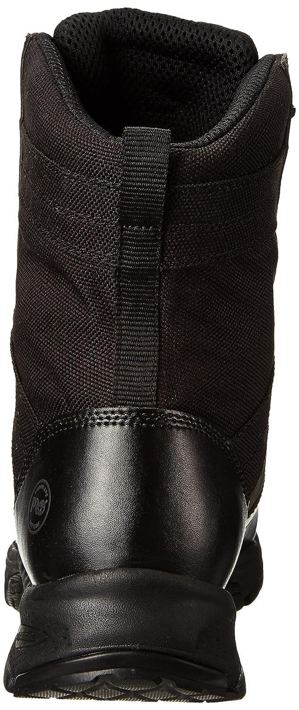 08f01298 Timberland PRO - Bota de trabajo en negro con punta suave, valor 8 \ Negro  liso con textiles