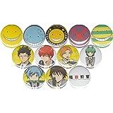 "Assassination Classroom set of 12 1"" pins/buttons/badges"