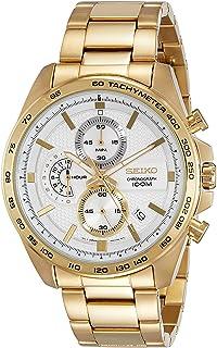 Seiko Men s Chronograph Quartz Watch with Stainless Steel Strap SSB286P1 41cf4bd721