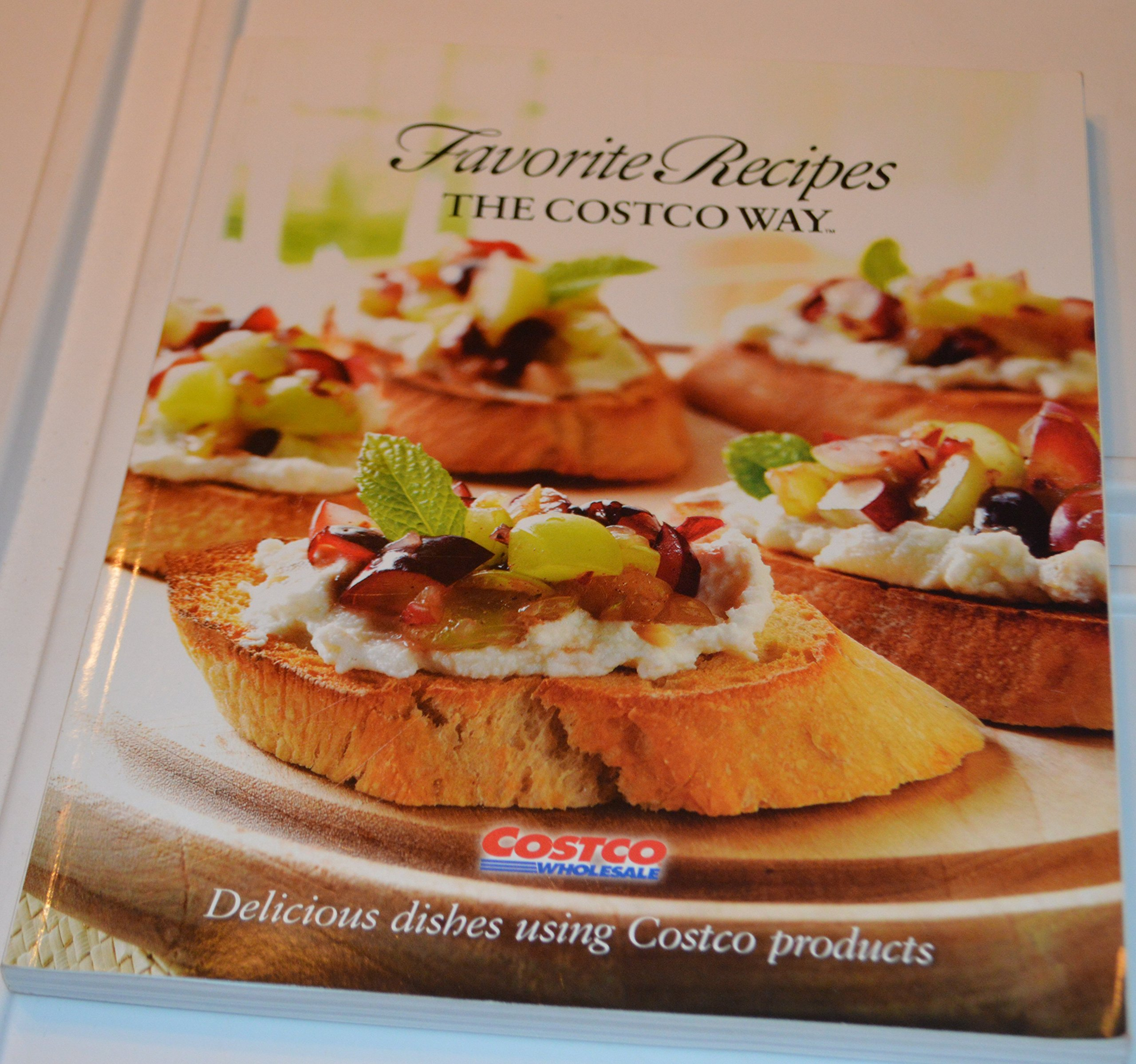 Costco cookbook giveaway