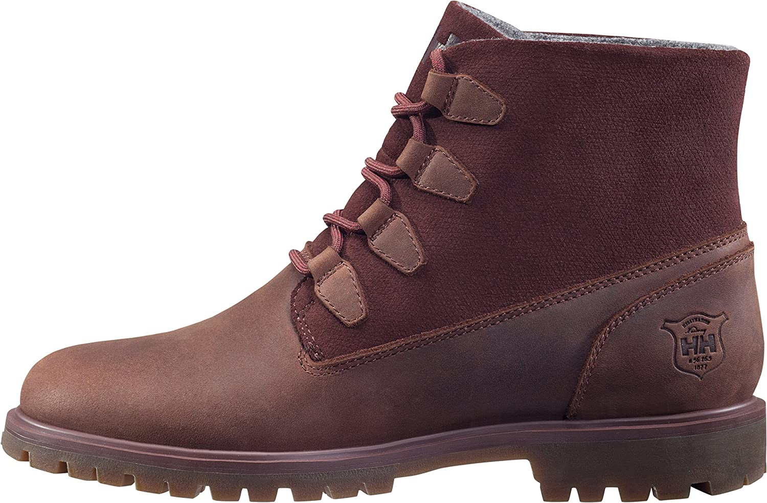 Helly Hansen Women's Cordova Snow Boot, Black/Ebony/Sperry Gum, 8 M US B01N80OEM5 6.5 B(M) US|Brunette/Red/Brown/Spe
