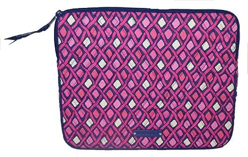 4685dd1eeb83 Amazon.com  Vera Bradley Tablet Sleeve in Katalina Pink Diamonds ...