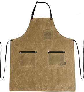 product image for Industry Apron - Waxed Canvas - Field Tan - Made in USA