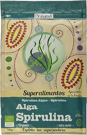 Drasanvi Alga Spirulina Bio 150 Gr Doypack Superalimentos ...