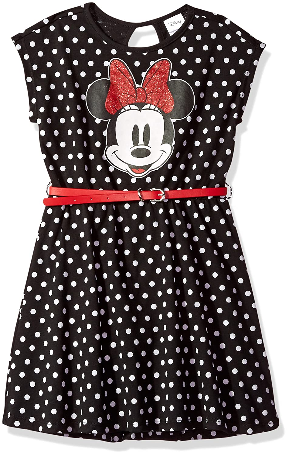 Disney Girls Minnie Mouse Dress with Belt Freeze Children's Apparel IESSU34