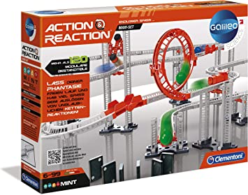 Clementoni - Ciencia y Juego Action & Reaction Crazy Dominó (59126) , color/modelo surtido: Amazon.es: Juguetes y juegos