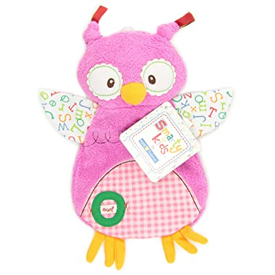 "Smarty Kids Comfort Cuddly Blanky, ""O"" is for Owl : Nursery Blankets : Baby"