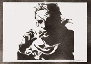 Póster Metal Gear Solid Snake Grafiti Hecho A Mano - Handmade Street Art - Artwork