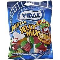 Vidal Megasurtido Brillo Golosina - Paquete de 14 x 100 gr - Total: 1400 gr