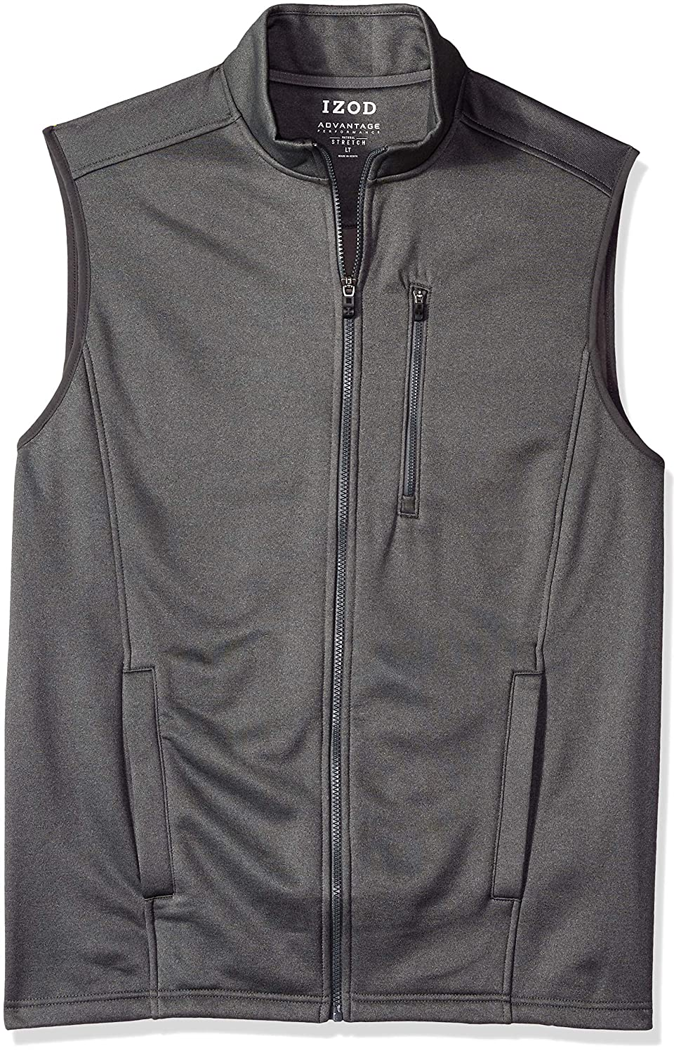 IZOD Men's Big and Tall Spectator Fleece Vest 45X8141