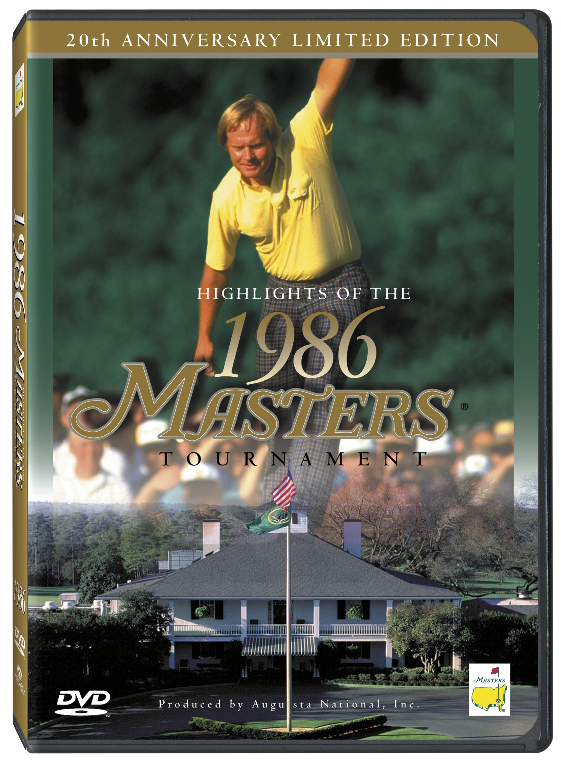 DVD : Highlights Of The 1986 Masters Tournament: 20th Anniversary (DVD)