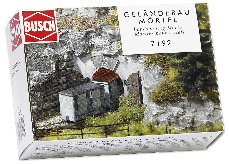 Busch Environnement - BUE7192 - Modélisme Ferroviaire - Mortier Gris