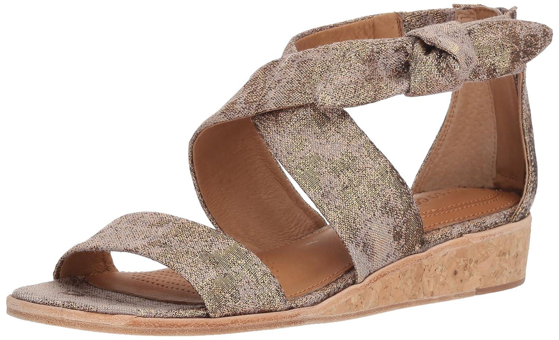 Corso Como Women's Cc-Rasque Wedge Sandal B07CKK4TM6 11.5 B(M) US|Rose Metallic