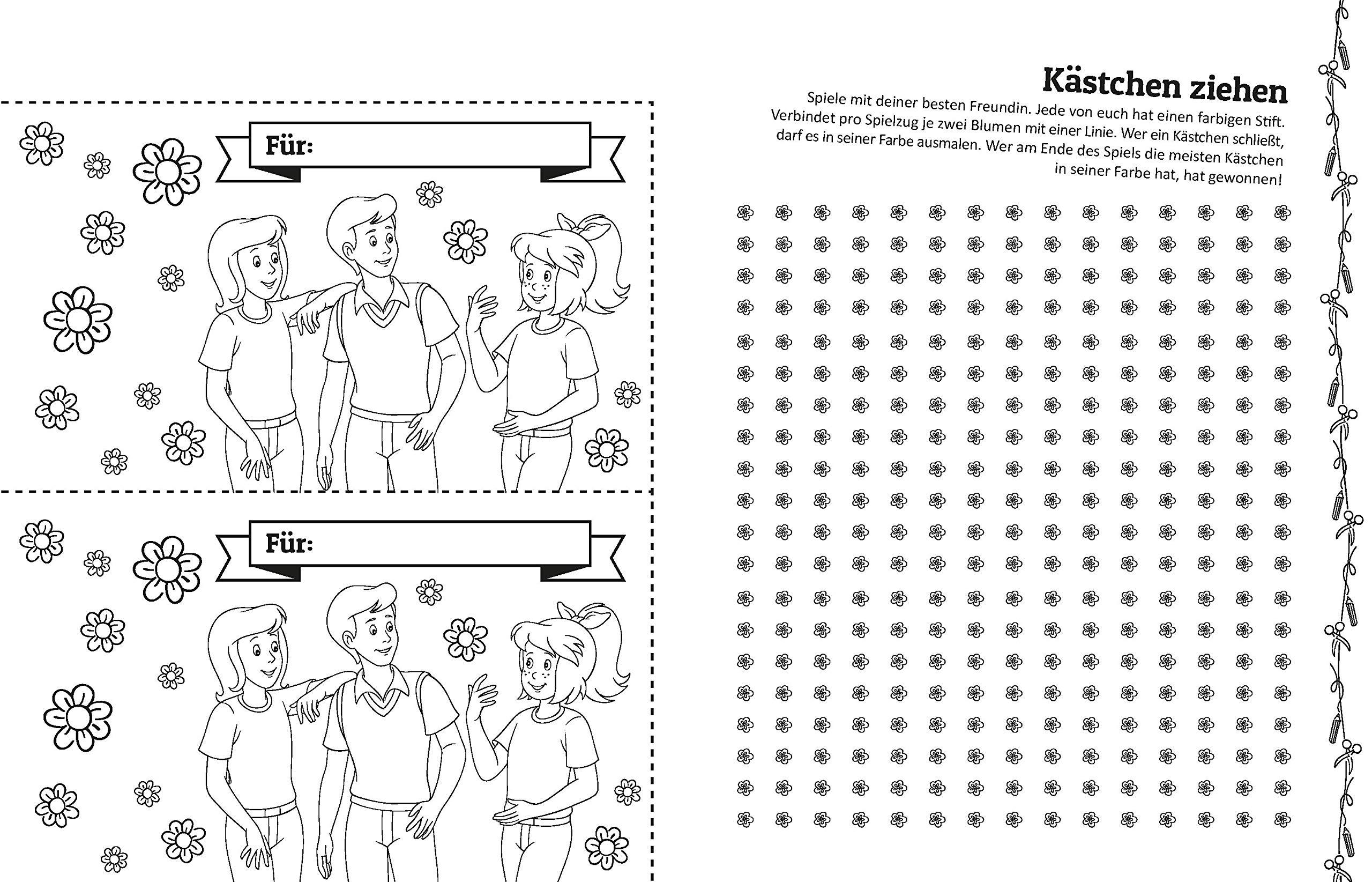 Bibi Tina Ratseln Stickern Basteln Mit Vielen Tollen Ideen Fur Pferde Freundinnen Amazon De Bucher