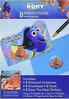 Amazon Com Custom Finding Nemo Birthday Party Invitation Toys