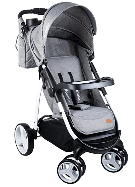 lionelo Elise - Silla de paseo, color gris: Amazon.es: Bebé
