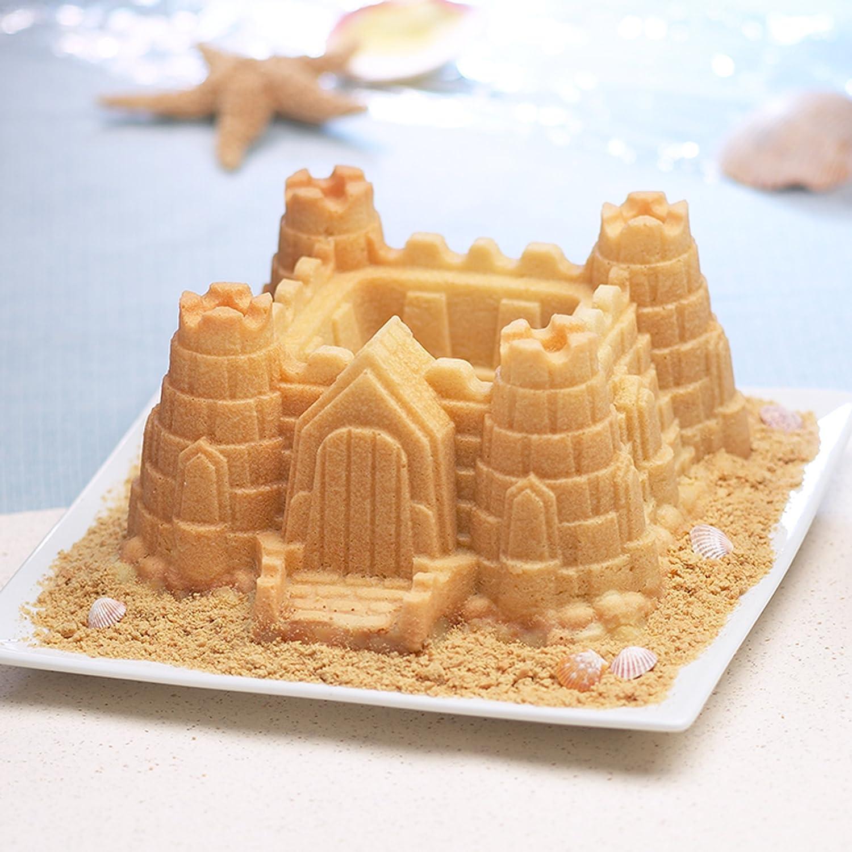Bundt cake pans for sale - Amazon Com Nordic Ware Pro Cast Castle Bundt Pan Novelty Cake Pans Kitchen Dining