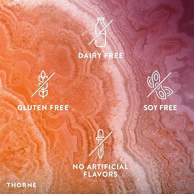 Thorne Research - Glutatión-SR - Glutatión de liberación sostenida para soporte antioxidante - 60 Cápsulas