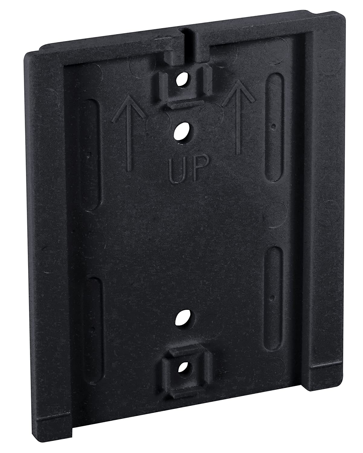 Visiontron WM412-auto-20SB-BL Economy Wall Mount 20 Automatic Retracting Unit w//Standard Fixed//Removable Wall Plate Black with Blue Belt Standard Belt End